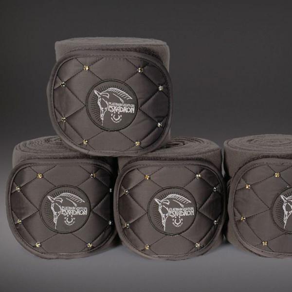 Eskadron Fleecebandagen Platinum Crystal