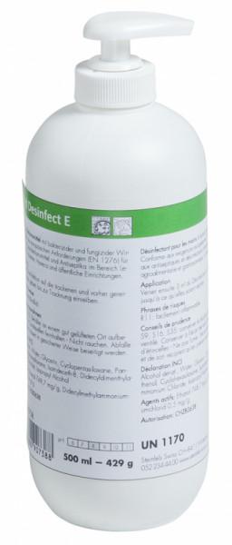 Händedesinfektionsmittel - Hand Desinfect E - 500 ml