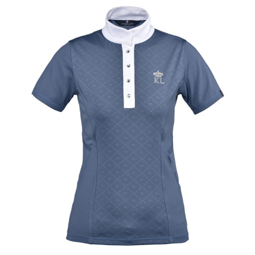 Kingsland Turniershirt Pilatus Blue Vintage Indigo