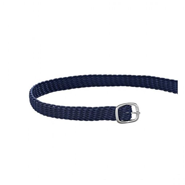 Sprenger Sporenriemen Perlon - blau