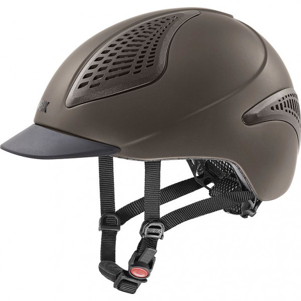 Uvex Reithelm exxential II - mocca mat