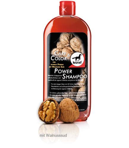 Leovet Power Shampoo für dunkle Pferde - 550 ml