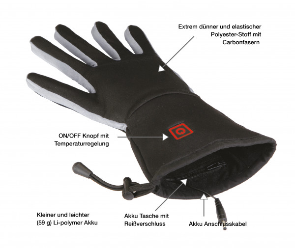 Thermo Gloves - Beheizbare Handschuhe