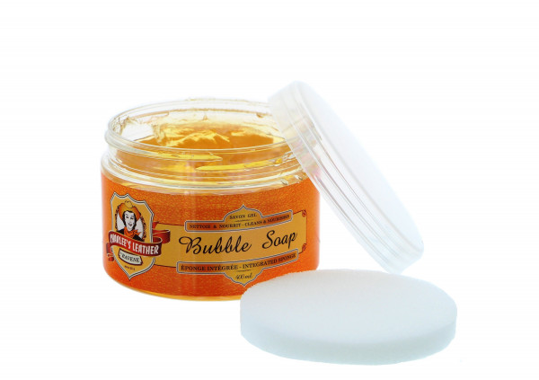 Charlee's Leather Bubble Soap 400ml