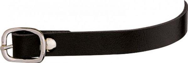 Sprenger Sporenriemen Leder 45cm - Schwarz