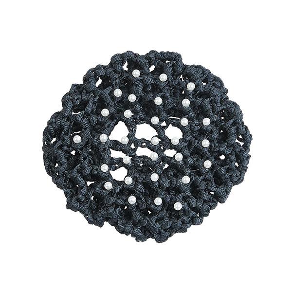 Busse Haarnetz PEARL - schwarz