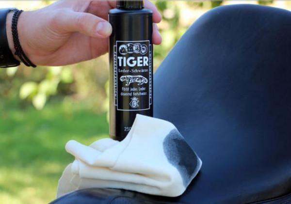 Tiger Leder-Schwärze 250ml