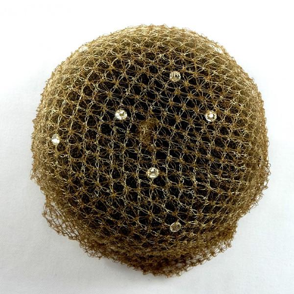 Showquest Haarnetz mit Swarowski Kristallen